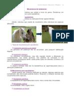 especiação e filogenia