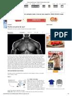 Tenha um peito de aço! _ Pôster _ Revista Men's Health