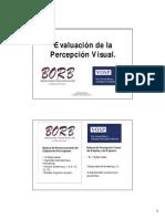 Evaluación de la Percepción Visual