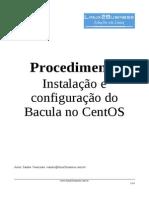 Instalação e configuração do Bacula no CentOS