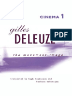 Deleuze - Cinema 1 The Movement-Image