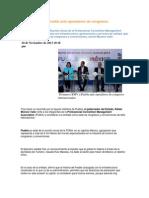 10-11-2013 Puebla Noticias - Promueve RMV a Puebla Ante Operadores de Congresos Internacionales