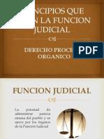 Principios Que Rigen La Funcion Judicial