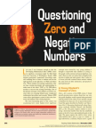 questioning zero and negative numbers