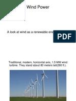 renewable energies presentation