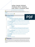 Cómo actualizar desde Outlook Express a Outlook 2010