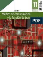Medios y Transparencia IFAI
