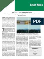 William Yeatman - The EPA's War Against the States.pdf
