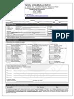 Tax Credit Form