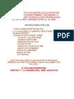Maharashtra state sixth pc calculator & Fixation & Arrears Sample