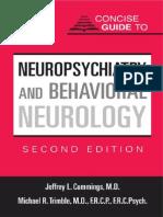 Neuropsychiatry and Behavioral Neurology