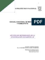Apuntes Metodologia Invest II Final