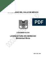 2009 Fundamenta c i on Derecho