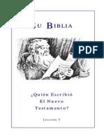 Estudio Sobre La Biblia-5