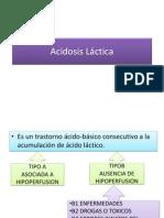 Ácidosis Láctica