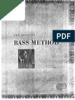 Ray Brown - JAZZ Doublebass method.pdf