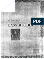 Ray Brown - JAZZ Doublebass method.pdf