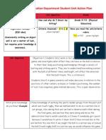 p e  action plan