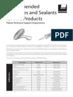 Adhesives&Sealants PVC