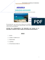 Guia Menorca
