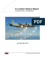 P-3 Aircraft Location History