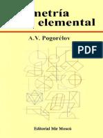 A. V. Pogorélov-Geometría Elemental-Editorial Mir (1974)