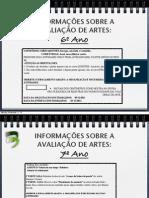ConteúdosArtes-3oTrimestre