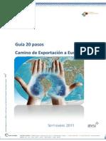Guía 20 Pasos. Camino de Exportación a Europa
