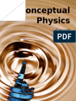 Conceptual Physics, by Benjamin Crowell