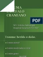 Trauma Encefalo Craneano Pp