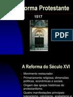 REFORMA PROTESTANTE - PALESTRA - 1ª ICE - 30-10-2011.ppt