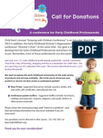GWC 2014 Donations Packet