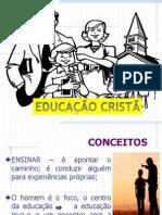 PALESTRA - EDUCAÇÃO CRISTÃ - MARINETE