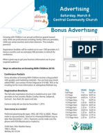 GWC 2014 Advertising Packet