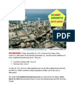 MPA LLC 10 Neighborhoods FOR Urban Population Health Care - November 11, 2013