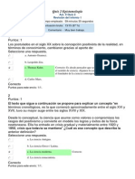 Act. 9 Quiz 2 -  Epistemología