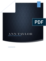 Ann Taylor Case Study- Group 1.docx