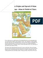 origins and spread of islam text