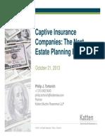 Captive Insurance Presentation pdf