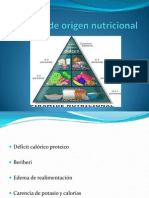 Edema de Origen Nutricional (1)