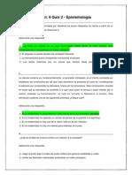 Act. 9 Quiz 2 -  {Epistemología}