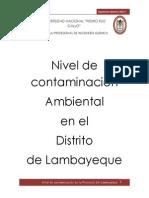 Grado de Contaminacion en Lambyeque Editado