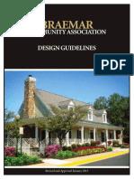 Braemar Design Guidelines 2013