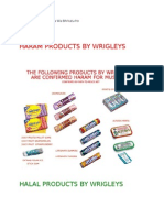 13649250 Halal Haram Food Products