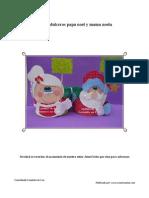 Dulceros Papa Noel y Mama Noela