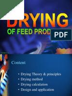 Drying Feed Ok