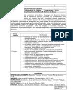 Plano de disciplina leitura e Interpretação de projetos
