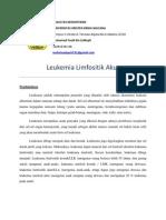 makalah leukemia limfositik akut (LLA)