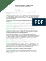 Glossario de Termos Financeiros