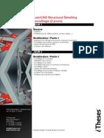 01. Autocad Structural Detailing Feraillage 2jours